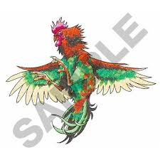fighting rooster embroidery design annthegran