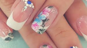 flower nail art designs step by step compilation 2017 youtube