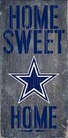 officially licensed dallas football home sweet home sign dallas