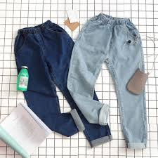 pattern jeans tumblr 424 tumblr basic elastic waisted denim leggings slacks pants