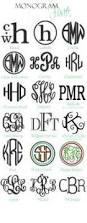 Initial Monogram Fonts Monogram Fonts Initials Images Vinyl Monogram Initial Fonts Free