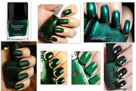 emerald green nails insane dissections