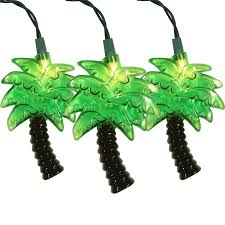 novelty lights 10 light palm tree novelty light set