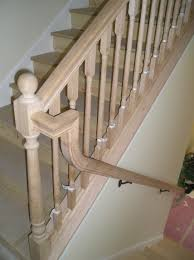 Banister Rail Stair Railing Gooseneck Transition With Different Stair