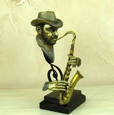 Sculptures Home Decor Online Get Cheap Musician Sculptures Aliexpress Com Alibaba Group