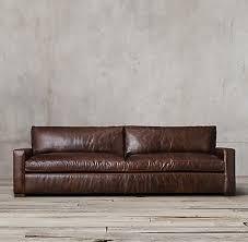 24 inch deep sofa maxwell leather rh