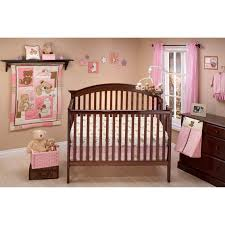 Jungle Themed Nursery Bedding Sets by Nojo Dreamland Teddy 10 Pc Nursery Set Pink Crib Sets Baby