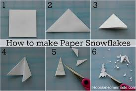 How To Make A Snowflakes Out Of Paper - creative and amazing step by step method to prepare paper