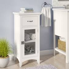 Bathroom Accent Cabinet Beachcrest Home Sumter 1 Drawer Floor Accent Cabinet U0026 Reviews
