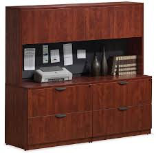 lateral file cabinet with hutch ndi office furniture 2 lateral files w 4 door hutch insert 71 x