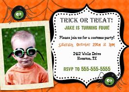 halloween birthday party invitations cimvitation