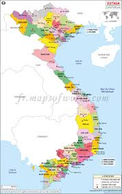 Map Of Africa With Capitals by Carte Du Vietnam Map Of Vietnam Mapsinfrench Cartedumonde