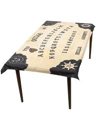 Ouija Board Coffee Table by Ouija Board Table Cloth Planchette Coaster Halloween Party