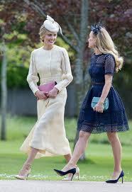 wedding statements hats heels were the big style statements at pippa