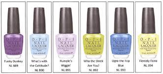 opi shrek forever after collection for summer 2010 u2013 beauty trends