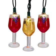 wine glass christmas ornaments kurt adler wine ornaments