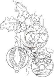 Black And White Christmas Decorations Clipart by Royalty Free Clip Art Image 3 Christmas Ornaments