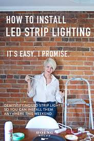 how to install led strip lights led strip lighting the easy way to illuminate anything the art