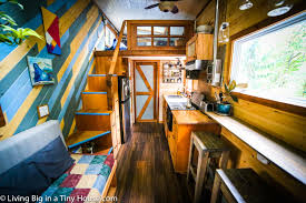 a tiny house for tall people living big in a tiny house