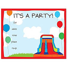 24 bounce house fill in birthday