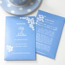forget me not seed packets sweet inspirations save the date with forget me nots