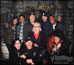 walking dead cast members visit netherworld netherworld haunted