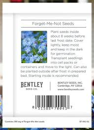 forget me not seed packets thank you real estate forget me not seed packet bentley seeds