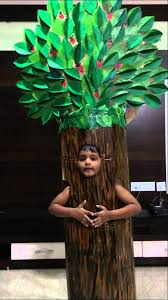 fancy dress of tree