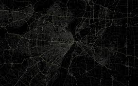 Map Wallpaper Download Wallpaper 3840x2400 Line Black Background Route Map