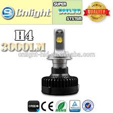 le h7 led made in china five start auto led bulb h4 h4 le high lumen 3000 lm