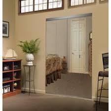 Impact Plus Closet Doors Impact Plus 36 In X 80 In Beveled Edge Mirror Solid Mdf