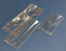 square cello bags gussseted cellophane bags