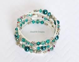 beaded wire bracelet images Memory wire bracelet etsy jpg