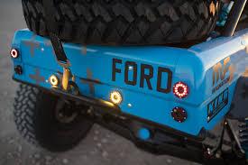 blue bronco car vaughn gittin jr u0027s bucking blue bronco magnaflow news