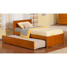 trundle bed frame trundle bed made from assorted types of woods