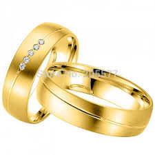 Couple Wedding Rings by Gold Plating Couple Wedding Rings For Men And Women In Rings From