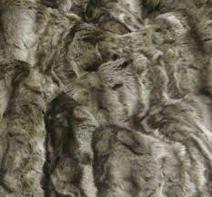 Furry Blanket Furniture Grey Furry Faux Fur Throws