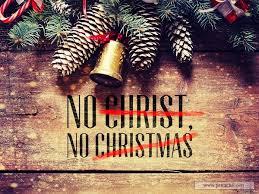 sermon by topic no christ no christmas
