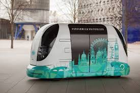 Moving Pod London Trials Driverless Shuttle Service The Verge