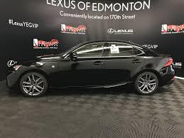 lexus gs350 f sport lowered new 2018 lexus is f sport series 2 4 door car in edmonton l14070