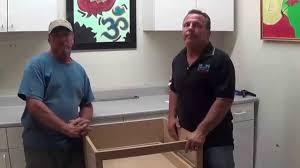 soft close drawer slides undermount drawer slides youtube