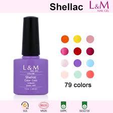color coat l u0026m shellac soak off uv gel nail polish 79 colors for