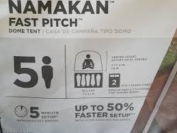 Coleman Namakan Fast Pitch 7 by Coleman Namakan Fast Pitch Dome Tent 5 Person Green Walmart Com