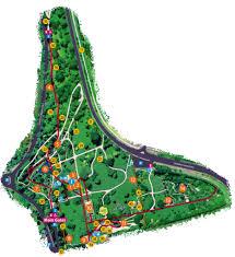 Botanic Gardens Hobart Royal Tasmanian Botanical Gardens Visitor Map