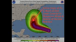 Map Of East Coast Florida by Hurricane Irma Could Blanket The Entire State Of Florida U0026 East