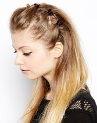claw hair hairstyles image 1 of asos pack of 6 mini hair claws h a i r pinterest