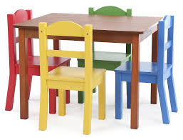 tot tutors table and chair set tot tutors focus wood table and 4 primary colored chairs set toys r us