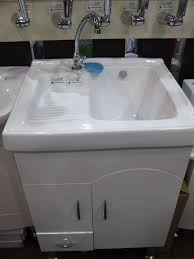 Home Decor  Utility Sink With Cabinet Arts And Crafts Wall - Kitchen and utility sinks
