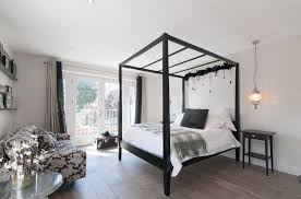 black canopy bed a good idea to get comfortable bedroom midcityeast