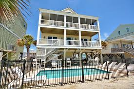 surfs up oceanfront cherry grove beach house rental north